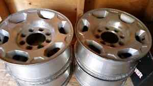 "Used 17"" Chevy Rims"