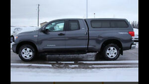 Trade 2012 Toyota Tundra Double Cab TRD with ONLY 24,000 km
