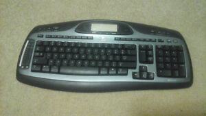 Logitech Keyboard (black color) and very nice strong