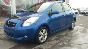 2007 YARIS RS 5 SPEED TOUT ELECTRIC TRES PROPRE Hatchback