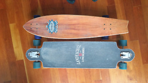 Two longboards for sale