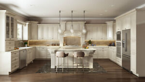 Antique White Solid Wood Kitchen on $-A-L-E!!!