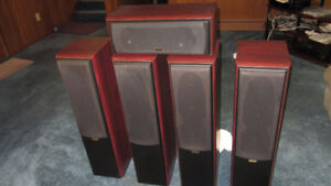 Proson Reality 66 speakers, 2 pairs plus C5 centre (5.0 system)