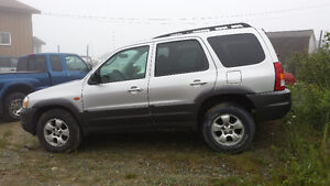 2004 Mazda Tribute SUV, Crossover