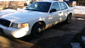 *Reduced* 2008 Crown Victoria Police Interceptor