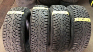 265-70-17 GENERAL BRAND WINTER TIRES IN GOOD CONDITION!