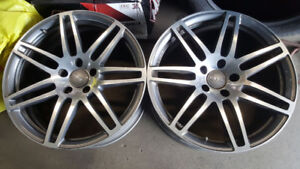 Audi OEM 21in Rims For Q7, 5x130 Cayenne, Touareg