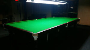 Gorgeous British 6 x 12 Snooker Table