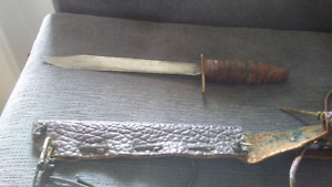 Antique hunting knife