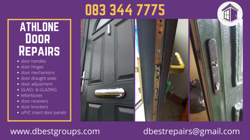 Athlone uPVC, Wooden and Aluminium Door Repairs