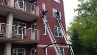 Emploi: Laveur de vitres sur la Rive-sud