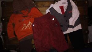 Vêtements bébé garçons 12 mois