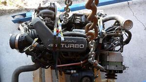 rare low km ea81 subaru turbo motor