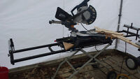 """sliding compound mitre saw 10"""" with delta portable stand"""