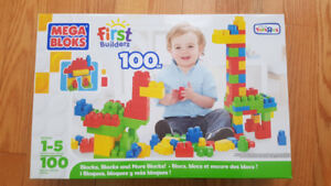 PRICE FIRM: Mega Bloks First Builders First Builders 100-Count