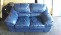 Blue kitsch couch