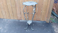 STEEL IRON ORNATE PLANT STAND