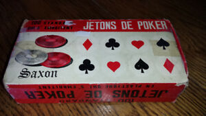 Jeton de poker antique