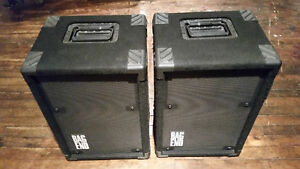 "Bag End 12"" PA speakers, Matched Pair"
