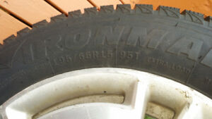 195 65R 15 winter tires on alloy rims