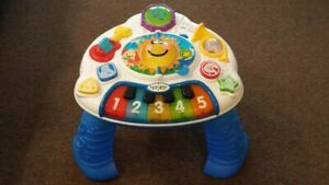 FISHER PRICE BABY EINSTEIN DISCOVERING MUSIC TABLE TODDLER
