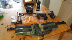 Paintball gun kit