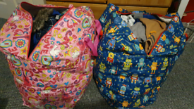2 x Large Bags of Baby Clothes 12 - 24 Months, Shoes - Newborn - 5