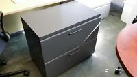Teknion 2dr Lateral Filing Cabinets - $149.00