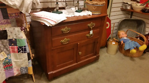wash stand 135 solid wood