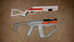 Playstation 3 Gun Controllers!