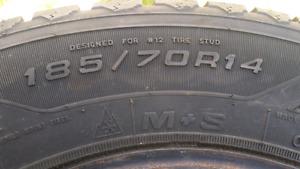 "14"" nordic winter tires"