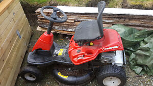 Troybuilt Ride on Lawn mower