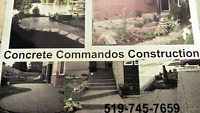 CONCRETE COMMANDOS FALL IS HERE SAVE THE TAX NOW
