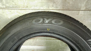 One (1) Summer Tire - Toyo Proxes TPT 195/65R15 West Island Greater Montréal image 1