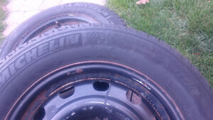 205 65 r 16 O205  rims and tires West Island Greater Montréal image 3