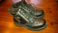 Ladies Harley Davidson Leather Motorcycle Boots