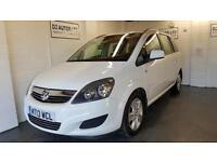 Vauxhall/ Zafira 1.6i 16v VVT white ( 115ps ) Exclusiv 2013