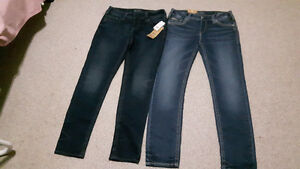 Two Brand new jeans for women size 31 W and 31 L each for $40