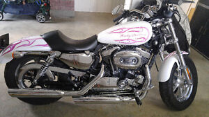 Moto Harley sportster 1200 XL seulement 4500 km