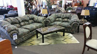 Camo Sofa & Loveseat