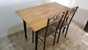 CLEARANCE!!! Dining table with two chairs