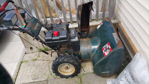 9hp Craftsman 27in Snow Blower..Moving out of province..$90obo..