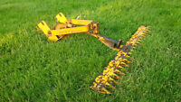 Vintage Jiffy Balling Front Mount Sickle Bar Mower attachment