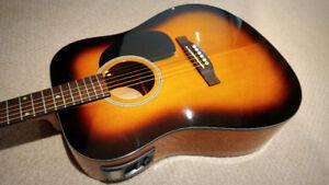 Beaver Creek Acoustic Electric Guitar - $165