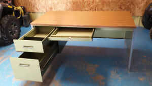 Steel Shop Desk