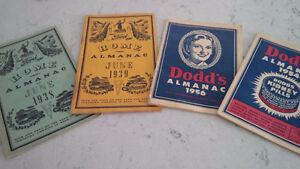 Dodd's Almanac 1954, 1956 Ford Home Almanac 1938, 1939 Kitchener / Waterloo Kitchener Area image 1