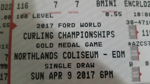 Ford World Curling Tickets