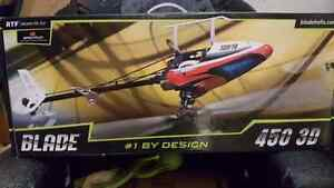 Blade 450 rc helicopter
