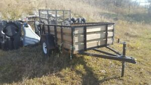 Forest River Utility Trailer 5X8