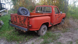 Ford Flare / Step Side Truck Great Hotrod / Muscle Truck Project